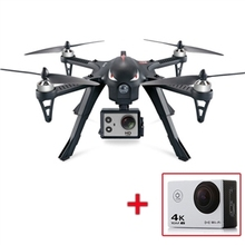 Erros 3 Rolo 3D Brushless MJX RC Quadcopter RTF 2.4 GHz com Câmera AT-30 4 K