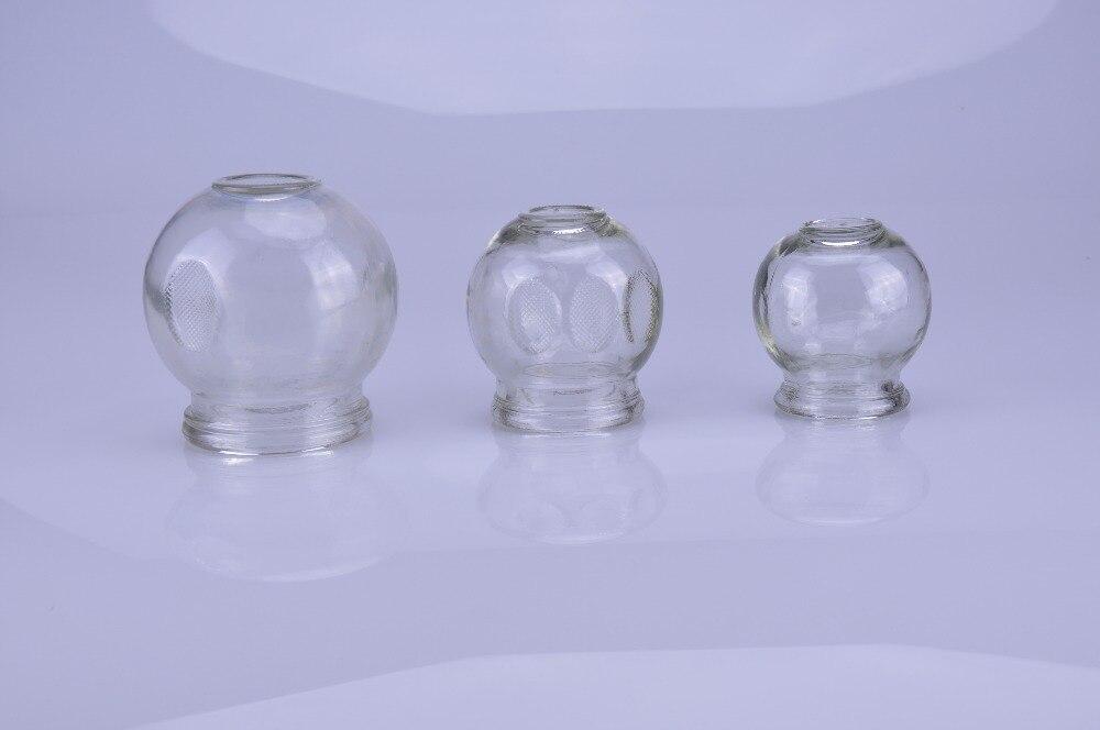 12 ピース/セットガラス真空カッピングセットマッサージカップガラス材料カッピングボディカップ治療カップセット  グループ上の 美容 & 健康 からの マッサージ & リラクゼーション の中 2