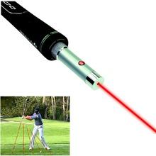 Golf Swing korektor laserowy samolot trener Golf Swing-samolot pomoc szkoleniowa wskaźnik golfowy Laser Spot Direction tanie tanio KW-GLP002 Zasilanie bateryjne Trener huśtawka Left Right hand Golfer Beginner