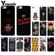 Yinuoda Anuel aa Ozuna Colorful Cute Phone Accessories Case for Apple iPhone 7 6 6S Plus 5 5S SE XR 8 X XS MAX Mobile Cover ozuna bogota