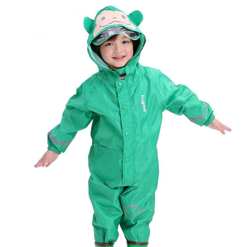 1-6 Anni Del Bambino Ragazze Impermeabile Esterna Impermeabile Pagliaccetti Bambini Rainsuit Estate Autunno Ragazzi Gioco Fango Vestiti