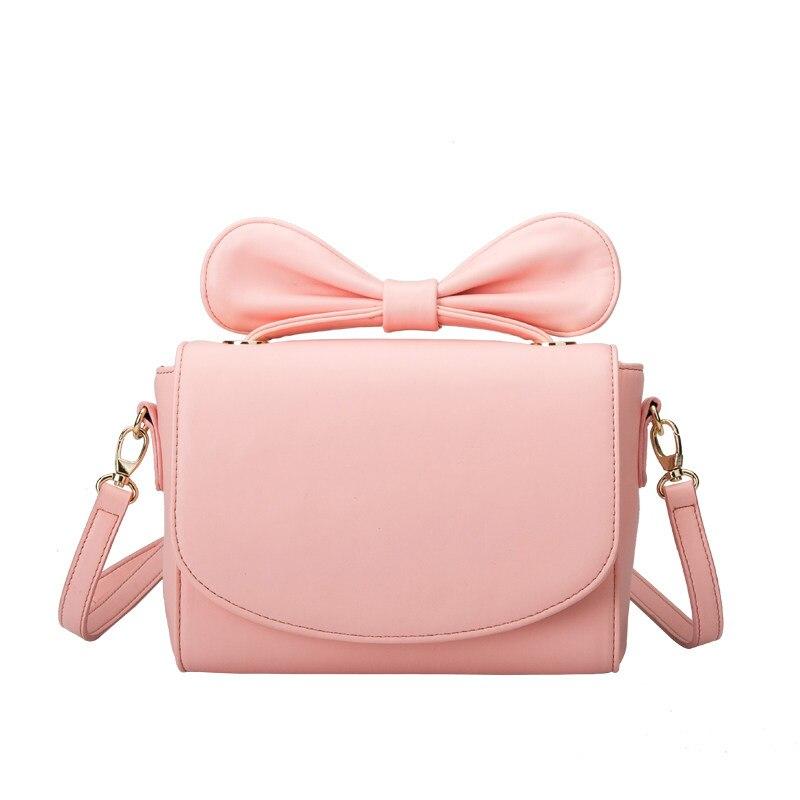 Korean Style Hand held Small Bag Ladies Designer Ladylike Shoulder Bag Trendy Elegant Sweet Style Bowknot