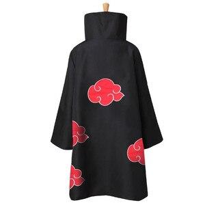 Костюм Наруто, плащ Акацуки, маскарадный костюм Саске Учиха, накидка, костюм Итачи, костюм для косплея, S-XXL