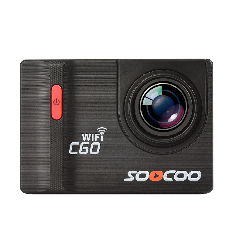 SOOCOO C60 Sports Camera 4K WiFi 2.0-INCH Anti-Shake Diving 30m Waterproof Action Camera soocoo c30 sports action camera wifi 4k gyro 2 0 lcd ntk96660 30m waterproof adjustable viewing angles