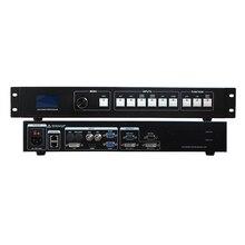 O envio gratuito de LED processador de vídeo scaler DVI VGA HDMI suporte Nova e Linsn LEVOU controlador de vídeo wall