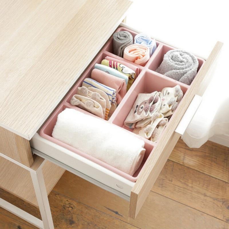 US $5.51 22% OFF|DIY Einstellbare Schublade Organizer Küche Bord  Kostenloser Teiler Make Up Geschirr Lagerung Box Kreative Design-in  Schubladen aus ...