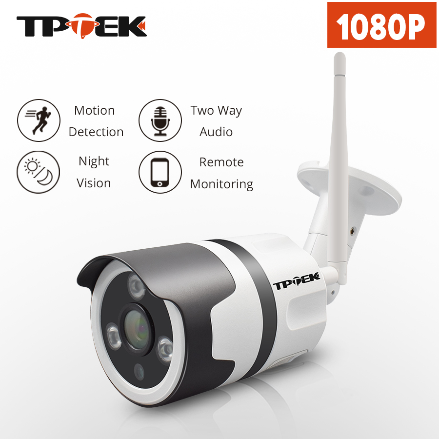 2MP WIFI IP Camera Outdoor Wireless Wi-Fi Security CCTV Surveillance Waterproof Wifi Camera Two Way Audio Home IP Camara Cam lintratek wireless ip bullet security camera 960p 4x optical zoom surveillance wifi cctv camera ip65 waterproof outdoor camara