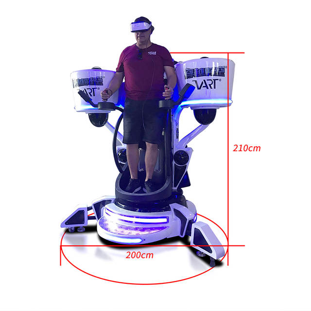 US $8300 0 |TG Best Selling Fully Motion Virtual Reality VR Flying 360  Flight Simulator-in Playground from Sports & Entertainment on  Aliexpress com |