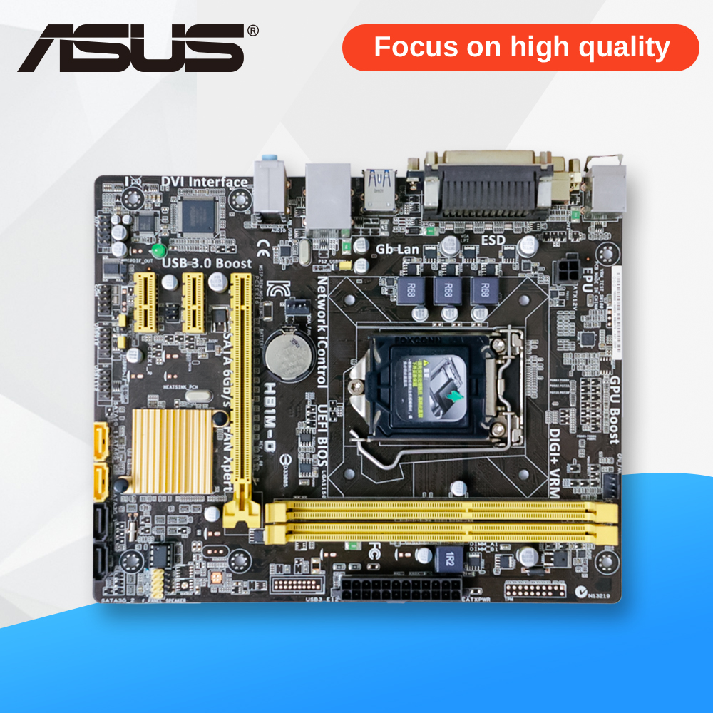 Asus H81M-D Desktop Motherboard H81 Socket LGA 1150 i3 i5 DDR3 uATX On Sale ...