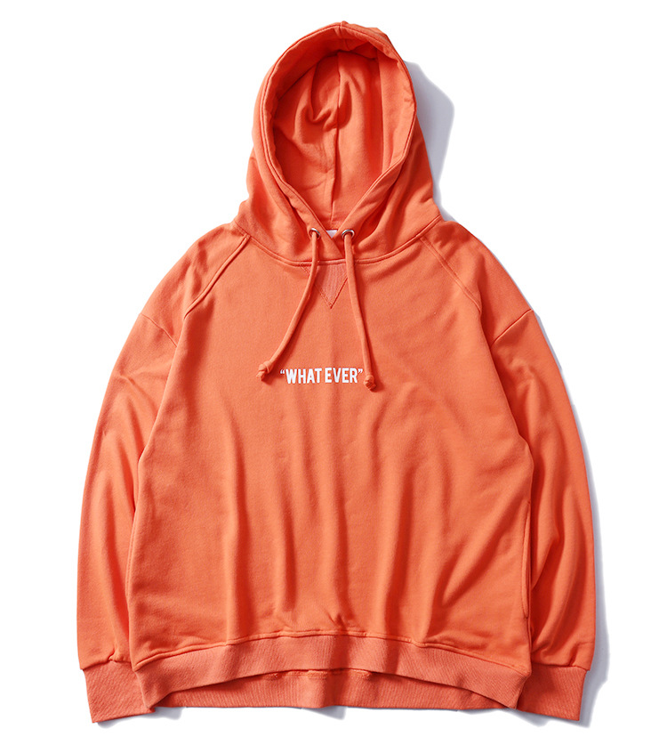 Envmenst 2017 New Arrival High Street Sweatshirts Candy Color Letter Printed Men Hoodies Fashion Autumn Loose Simple Hoody
