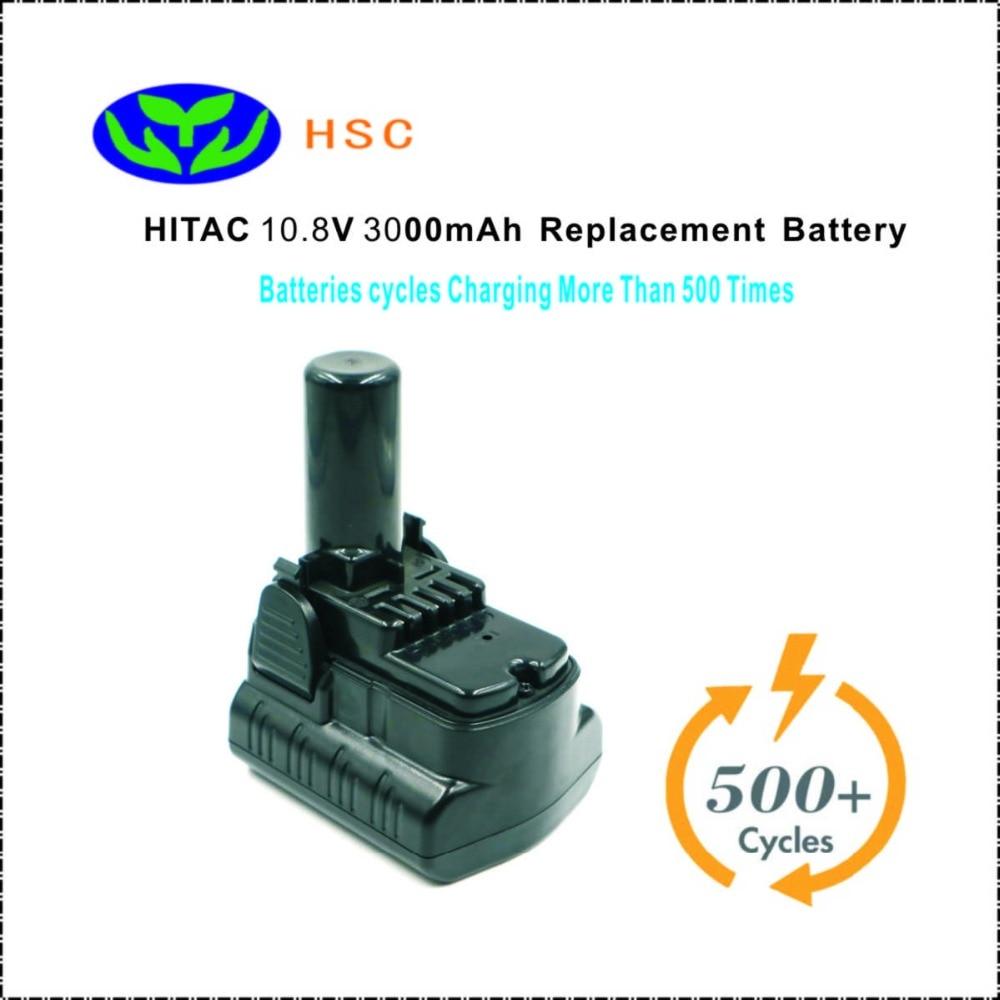 3.0Ah 18650 バッテリーパック HIT10.8 リチウムイオンバッテリー 10.8V 交換 HITAC BCL1015 BCL1030 BCL1030M BCL1030A 329370 バッテリーパック  グループ上の 家電製品 からの バッテリーパック の中 1