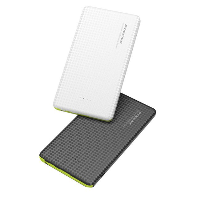 New 5000 mah power bank mobile power portátil led indicador de carregamento de bateria externa com cabo usb de carregamento para iphone android
