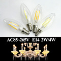 Christmas LED Candel Bulb E14 2w 4w Energy Saving LED Bulbs Candle Lights for Chandelier Fixture Warm Cool White AC110V 220V