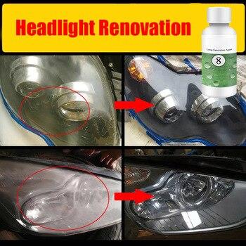 20/50ML Paint Care Car polish Lens  Restoration Kit Headlight Brightening Repair Repairing Tool Styling