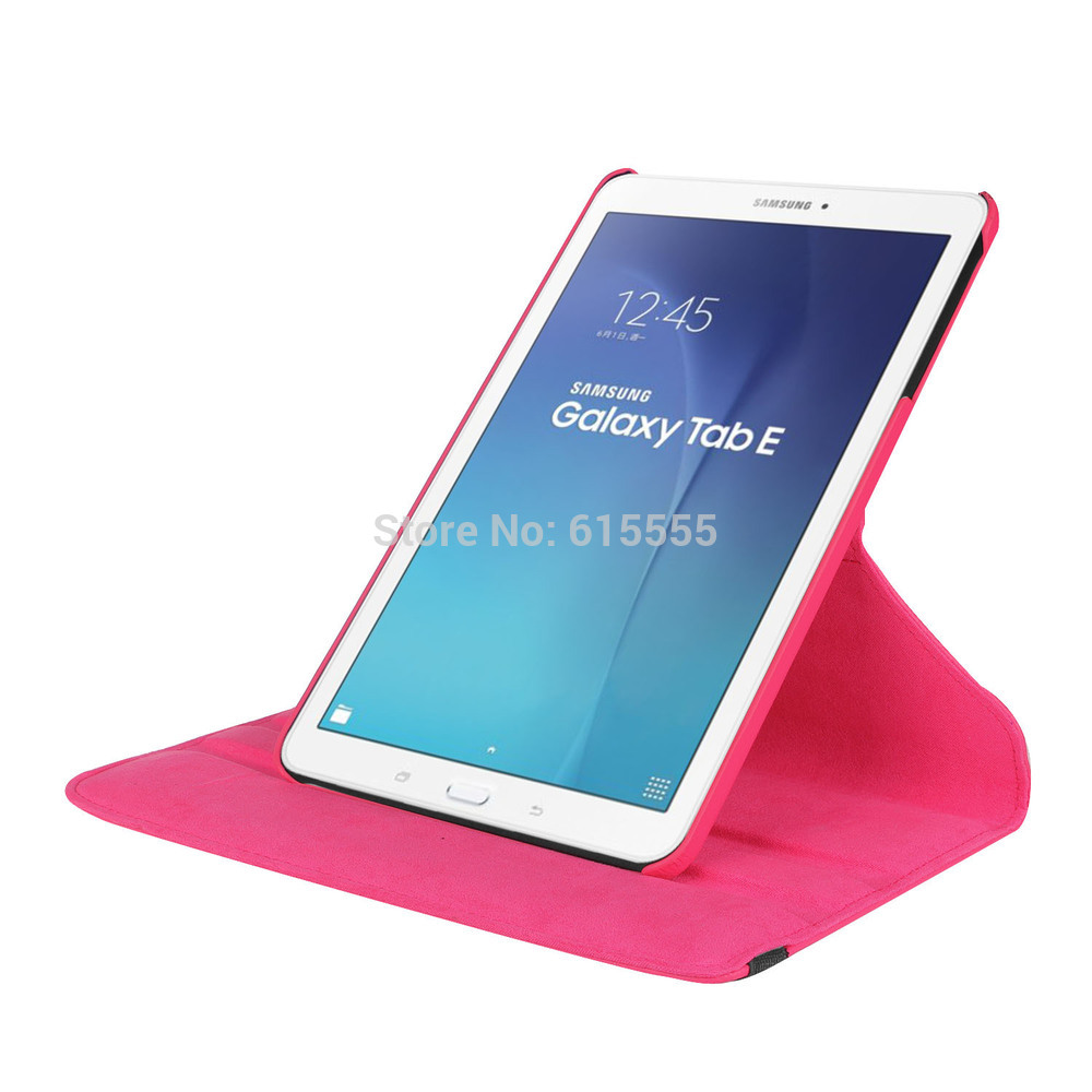 360 Rotation Case for Samsung Galaxy Tab E 9.6 T560 30pcs/lot DHL Free Shipping 30pcs lot dhl high quality for samsung