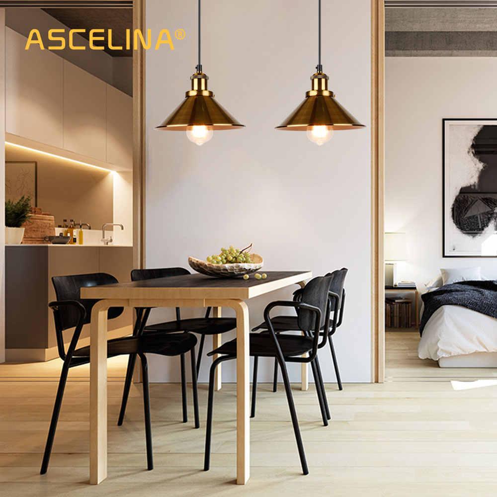 Промышленный подвесной светильник, винтажный подвесной светильник, современный подвесной потолочный светильник, светодиодный светильник для ресторана, гостиной