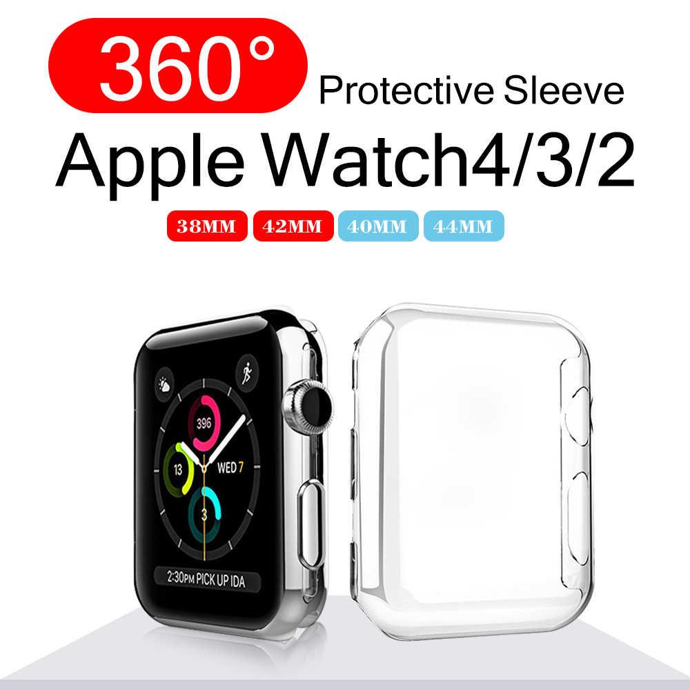 MU SEN для Apple watch 4 3 2 1 40 мм 44 мм 360 для Iwatch 4 38 мм 42 мм