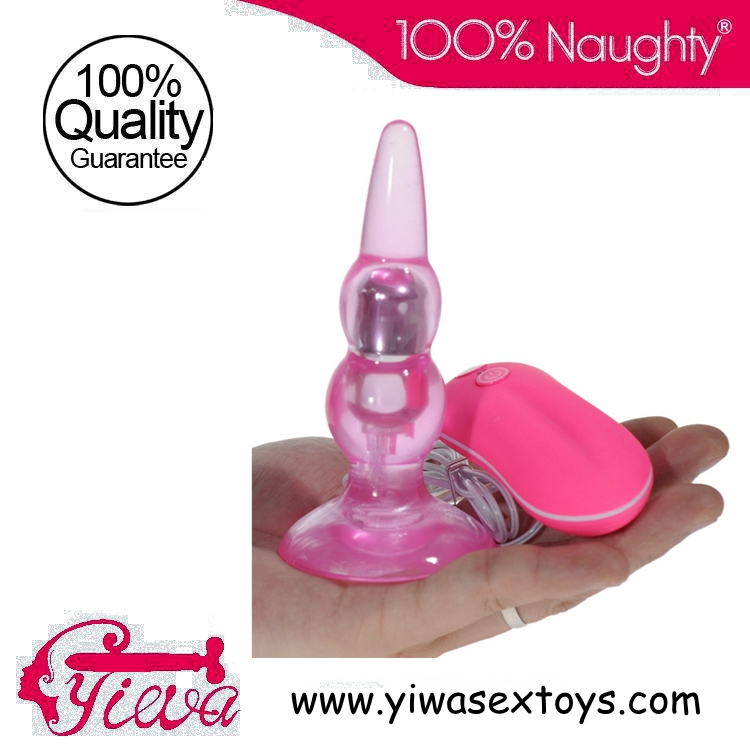 Buy New Plugs Anal Vibrators 10 Speed Vibrating Anal Sex Toys Butt Plugs Adult Products Suction Cup transparent  Anal Plugs Men