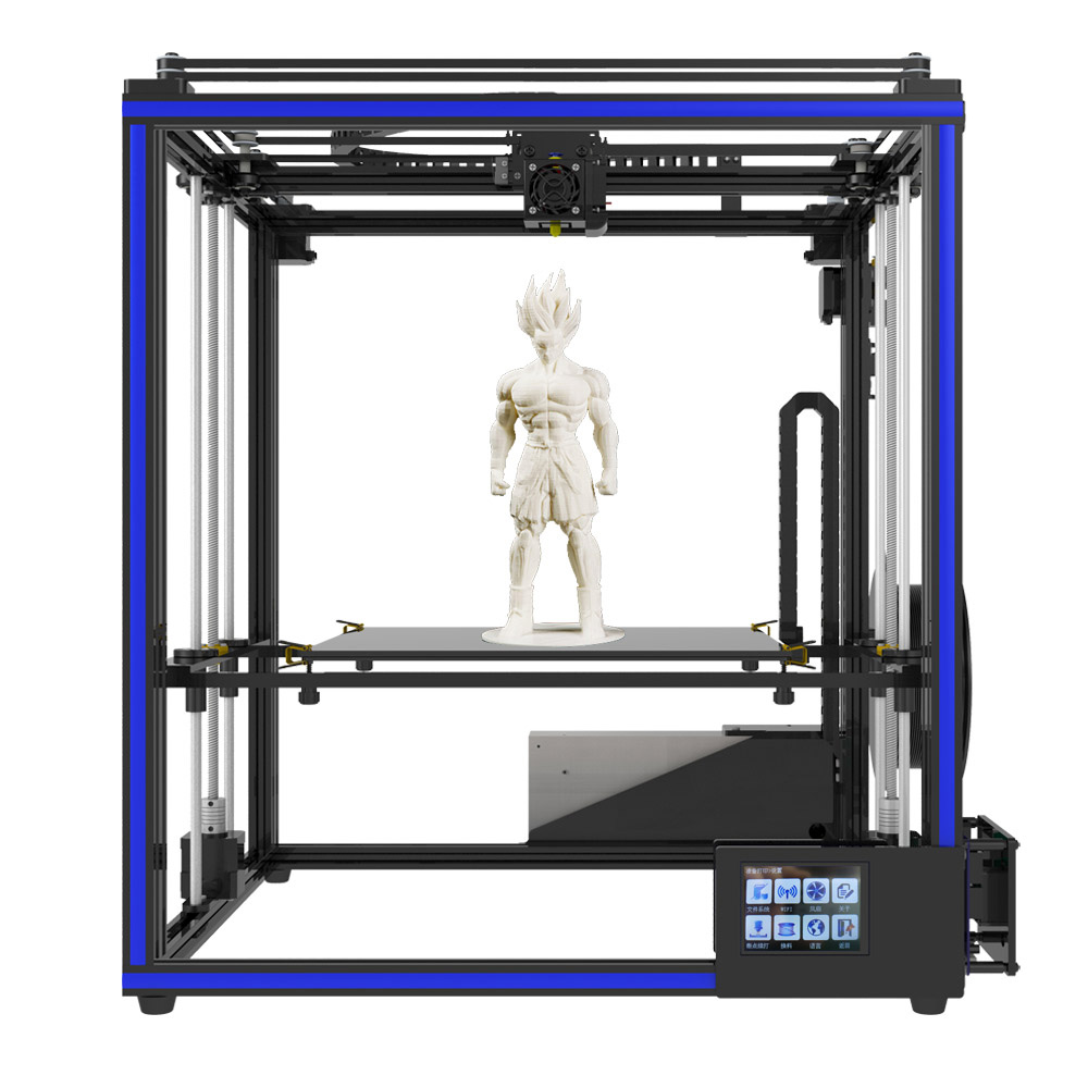 2018 Newest Tronxy DIY Assembled X5SA Aluminium Extrusion 3D Printer kit printing with Touch screen and Auto leveling все цены
