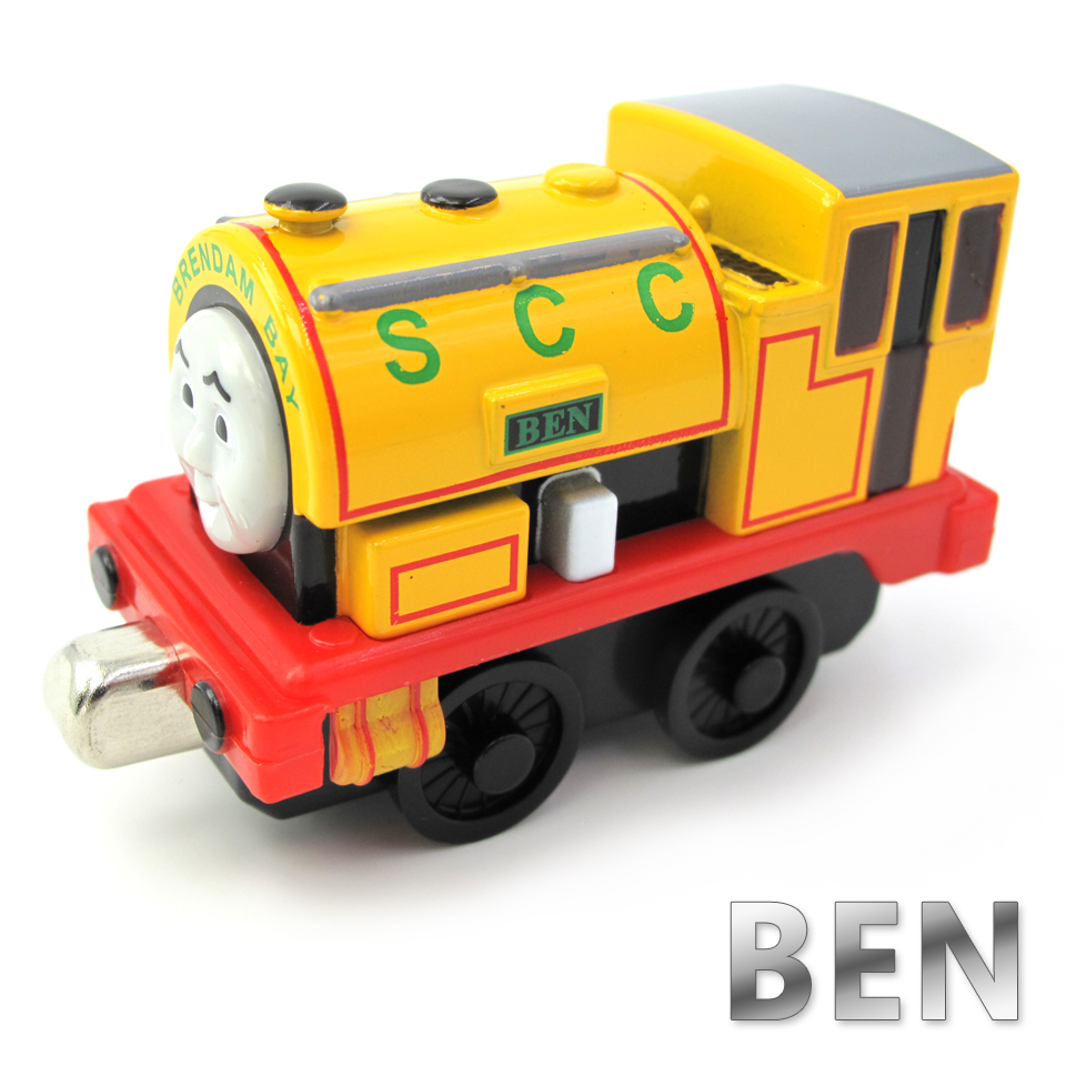 Diecasts Vehicles Thomas T009D BEN Thomas And Friends Magnetic Tomas Truck Car Locomotive Engine Railway Train Toys for Boys