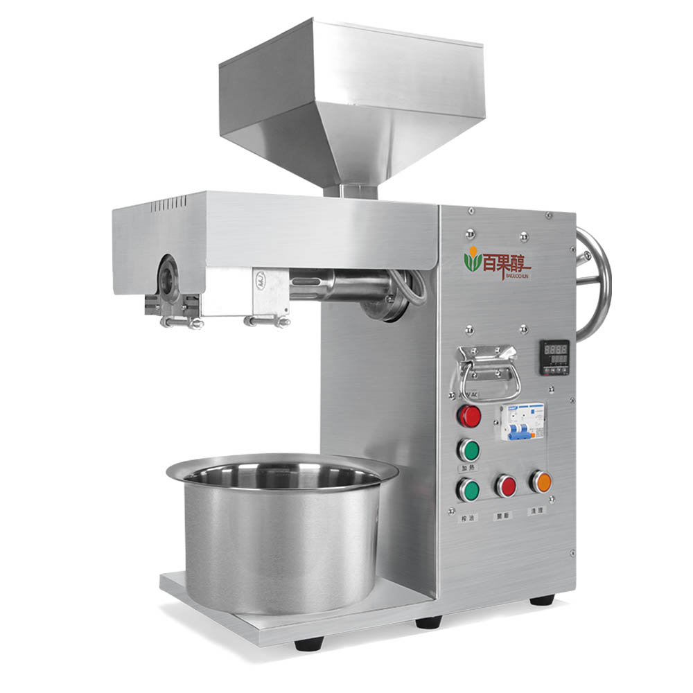 Commercial Oil Extractor Semi-Automatic Oil Press Machine Cool&hot Pressed Stainless Steel Coconut Factory Outlet  CE