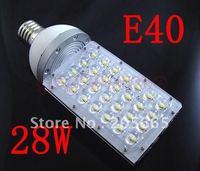 28W LED Street Lights E40 MOGUL Base Light Bulb Street Outdoor Bulb Lamp AC85 265V led Industrial light outdoor lighting lamps