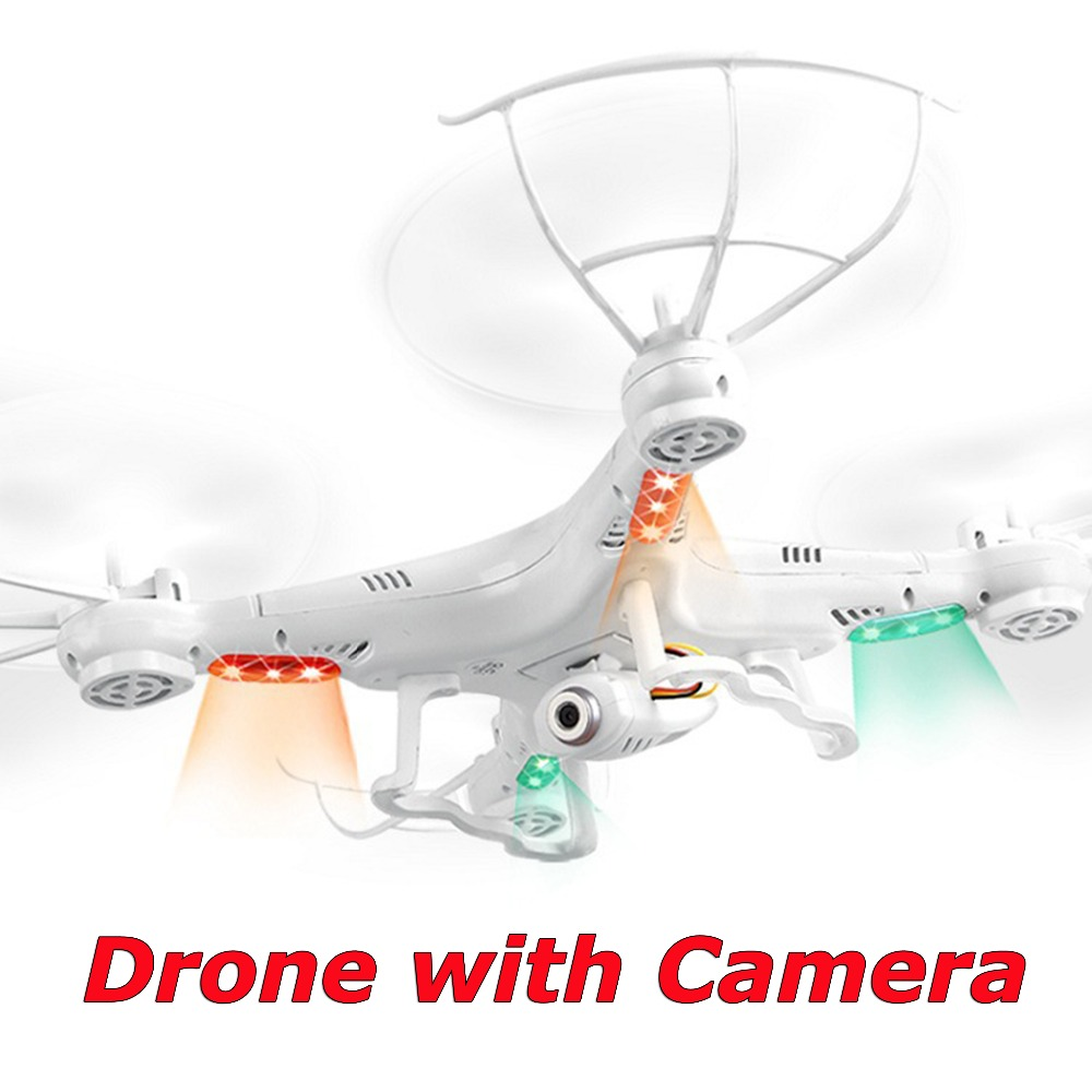 Drone with Camera HD HOT SALE X5C-1 RC 2.4G 4CH 6-Axis Quadcopter Video RC Helicopter Remote Control Toys VS x5 x5c f181 FSWB image