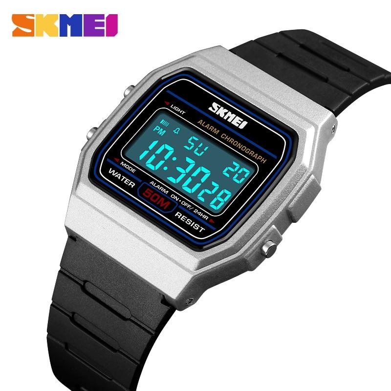 SKMEI Fashion Sports Couple Watches Women Digital Watch Waterproof Display Date Week Female Wristwatch Relogio Feminino 1412