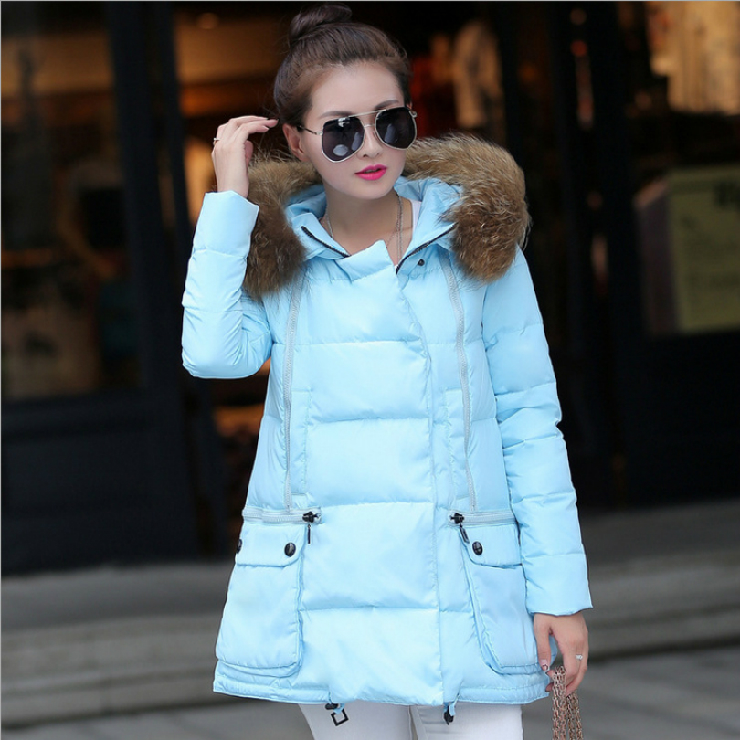 New Size Winter Women Down Cotton Jacket Long Thick Parkas Female Hooded Cotton Padded Fashion Warm Coat Oute Down & Parkas 2017 new female warm winter jacket women coat thick down cotton parkas cotton padded long jacket outwear plus size m 3xl cm1394