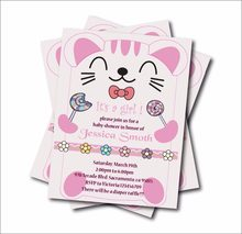 Online Get Cheap Cat Birthday Invitation Aliexpress