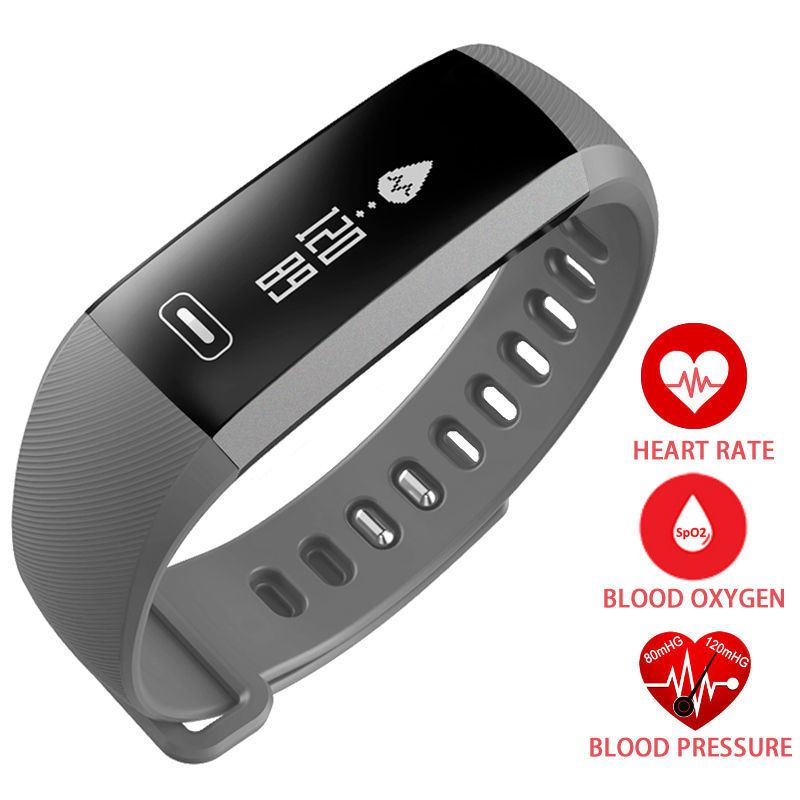 Prix pour Femmes & Hommes Casual poignet Bande de Fréquence Cardiaque Sang Pression D'oxygène Oxymètre Sport Bracelet Montre intelligente Pour iOS Android