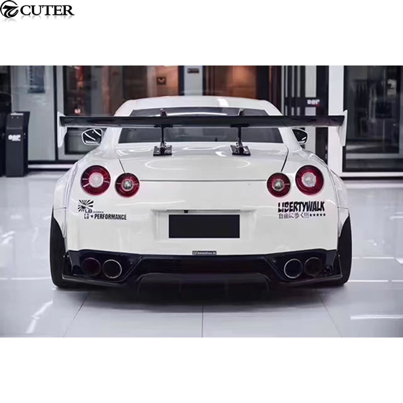 GTR R35 Auto Racing Car Styling Carbon Fiber Rear Wing Spoiler for Nissan R35 GT R GTR 09 15