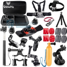 Gopro Accessories Monopod Tripod Float Bobber Chest head strap Hero4 3 3+ 2 Xiaomi yi  SJCAM Camera GS45