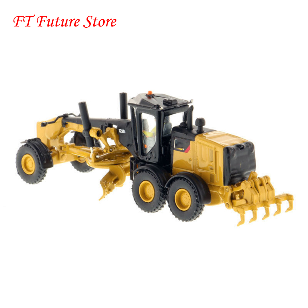 Children Fas Gifts 1/87 Scale Alloy Diecast 12M3 Motor Grader 85520 Engineering Truck Model Toys for Collection GiftChildren Fas Gifts 1/87 Scale Alloy Diecast 12M3 Motor Grader 85520 Engineering Truck Model Toys for Collection Gift
