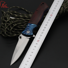 Dcbear NEW Pocket Folding Knife 440C Steel Blade Utility Tactical Survival EDC Knives Camping Hunting Rescue Tools