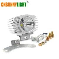 Led Car External Headlight 15W 1800LM 8 85V Motorcycle Fog DRL Headlamp Spotlight Hunting Driving Light
