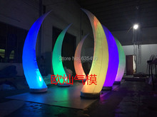 Party decoration LED light Inflatable tree LED lighting Inflatable bamboo shoot decorative Inflatable pillar flower