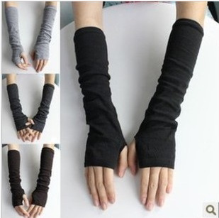 Pair Keep Warm Arm Sleeve Sweet Vogue Modelling  Fingerless Gloves/wrist AW6234