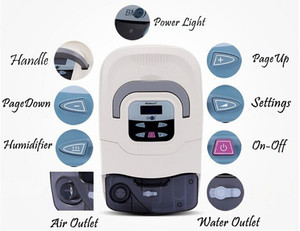 Image 2 - Doctodd GI נייד CPAP מכונת לדום נשימה בשינה OSAHS OSAS נחירות אנשים עם משלוח מסכת כיסויי ראש צינור תיק SD כרטיס למעלה איכות