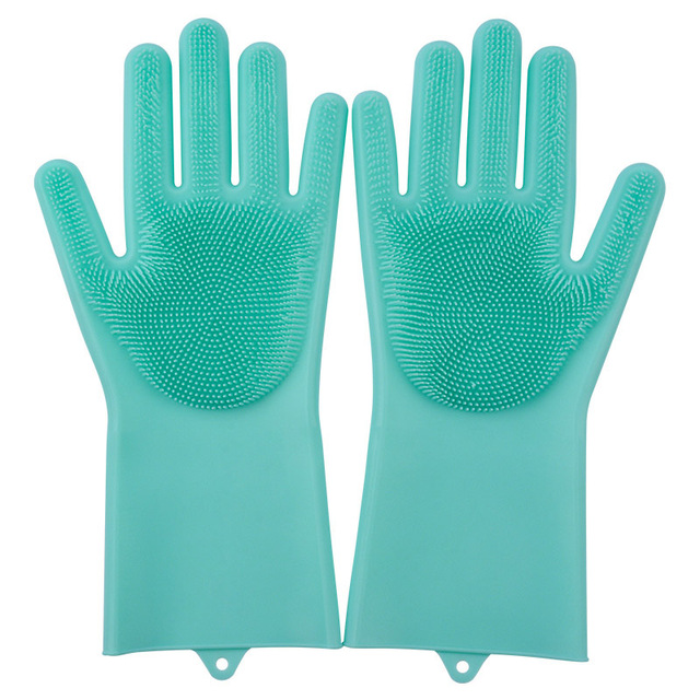 Silicone Dish Washing Gloves in Multi-Colours