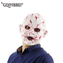 цена на New Halloween Adult Latex Scary Ghost Mask Bloody Scary Extremely Disgusting Full Face Mask Costume Carnival Party Cosplay Prop