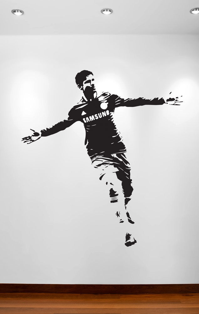 DIEGO COSTA Silhouette FOOTBALLER Wall Art Sticker Decal ...