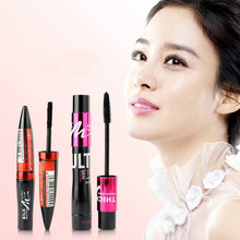 Mascara Individual Curl Eyelash Extension Colossal Mascara Volume Express Makeup 1pc Black Ink Alobon 3d Fiber Lashes alobon bb