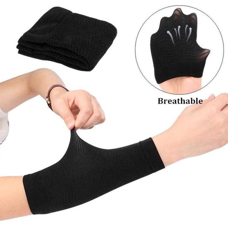 2 Pcs Calories Off Lean Arm Arm Shaper Weight Loss Massager Fat Burning Weight Loss Weight Loss Wraps Arm Sleeve