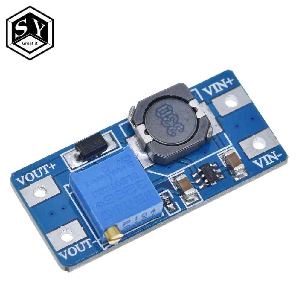 1 Uds gran IT MT3608 2A Módulo de aumento de potencia máximo DC-DC 3-5V a 5 V/9 V/12 V/24 V