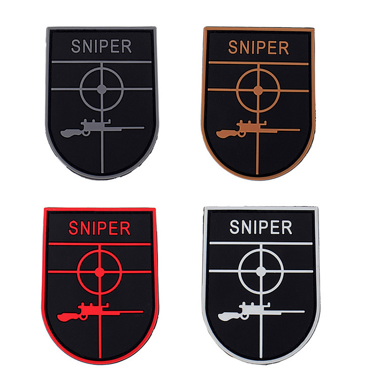 Apparel Sewing & Fabric Pvc Spider Morale Paches Military Badge Hook Fastener Tactical Army Swat Airsoft Rubber For Bag