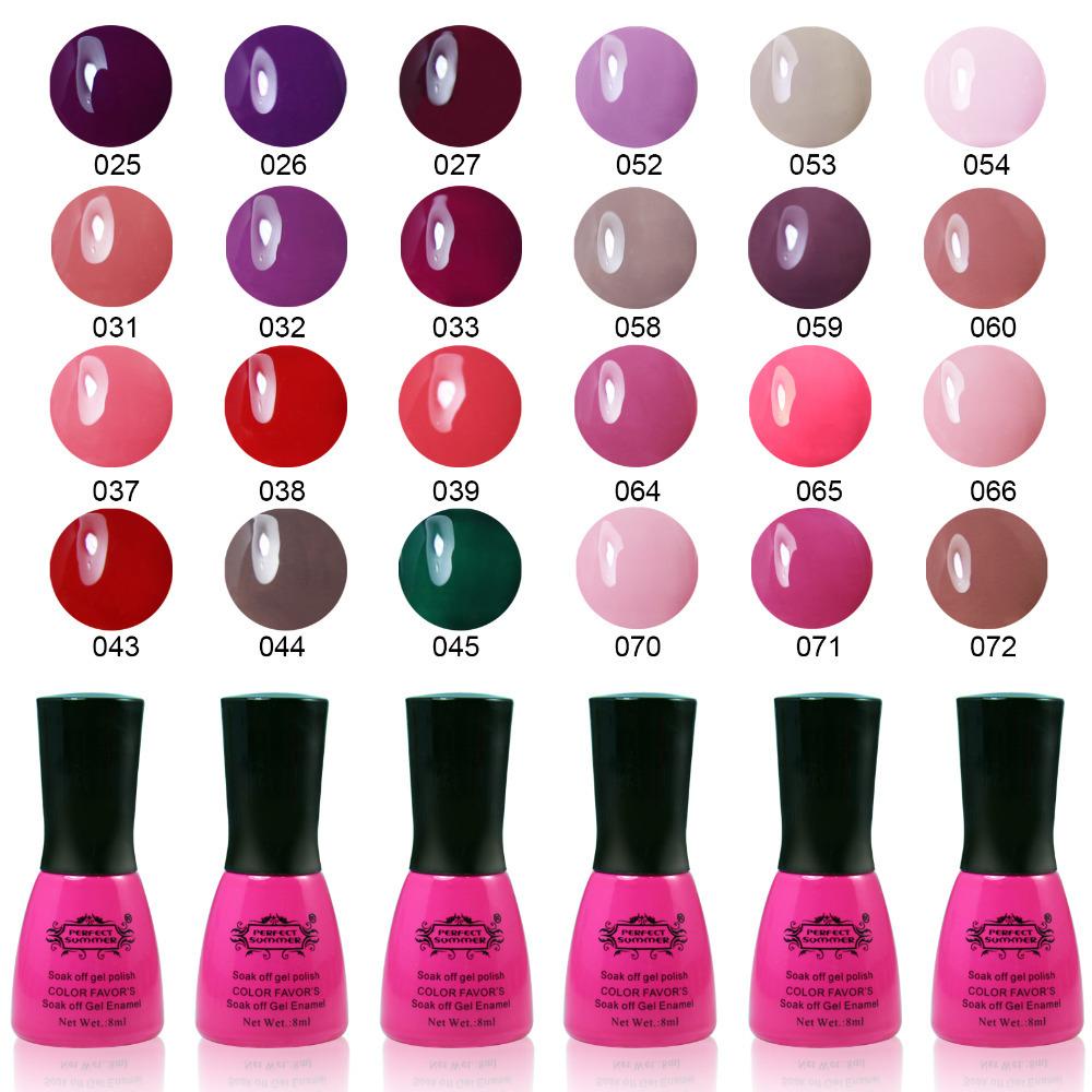 Top Quality Long Lasting UV Nail Gel Polish Varnis...