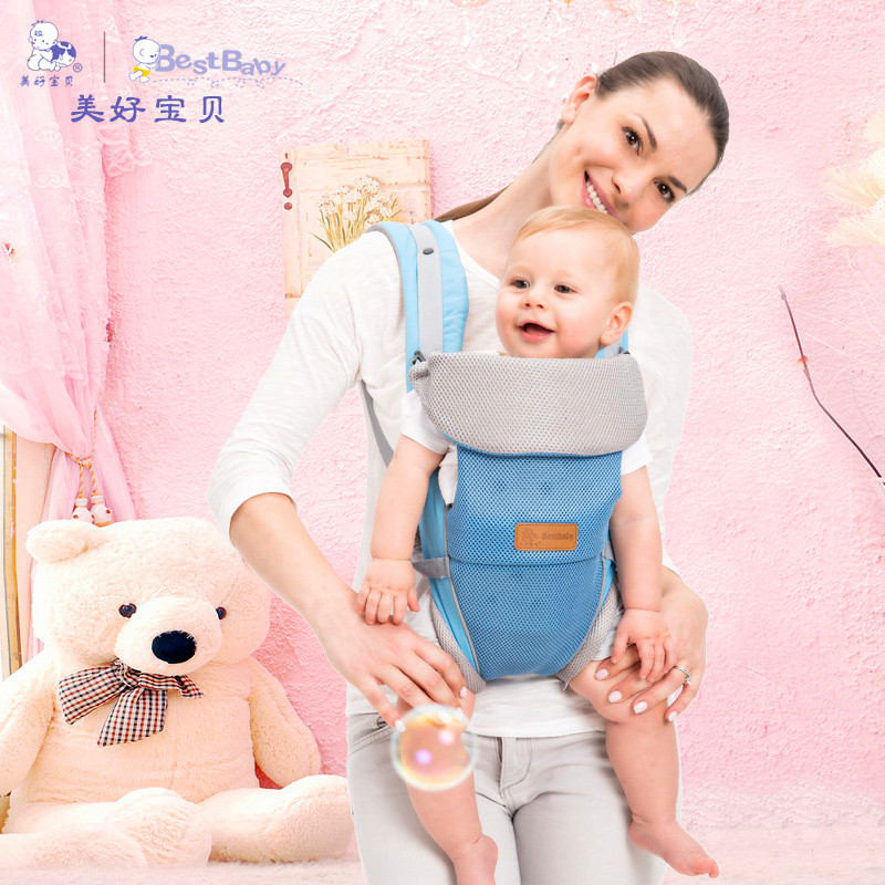 ФОТО Kangaroo baby bag pouch sling hip child carrier baby front & back hoodie baby carrier   backpack-carrying
