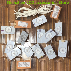 Image 4 - 50Pieces/lot FOR  Changhong TCL Konka Skyworth ideal Universal LCD TV 26 32 65 inch LED repair backlight lamp beads 3V  100%NEW