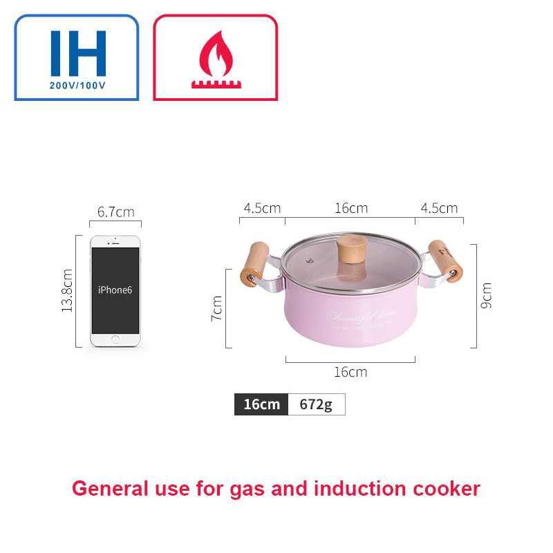 Mini Non-Stick Milk Chocolate Soup Heating Pot 3